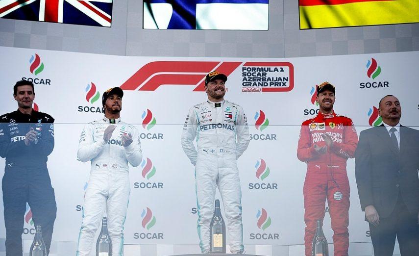 GP de Azerbaiyán: Bottas vence y emerge como líder