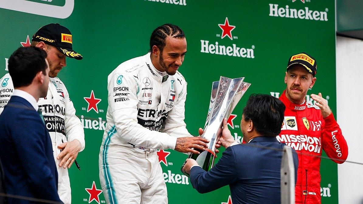 GP de China: Otro doblete de Mercedes