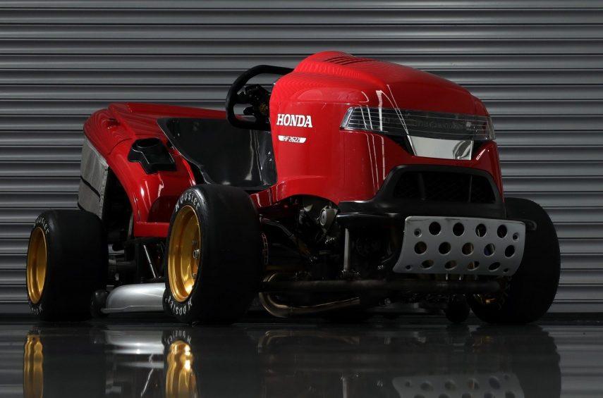 El Honda Mean Mower vuelve con nuevo récord