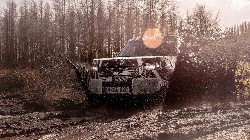 Land Rover cumple 71 años, mientras prepara el nuevo Defender