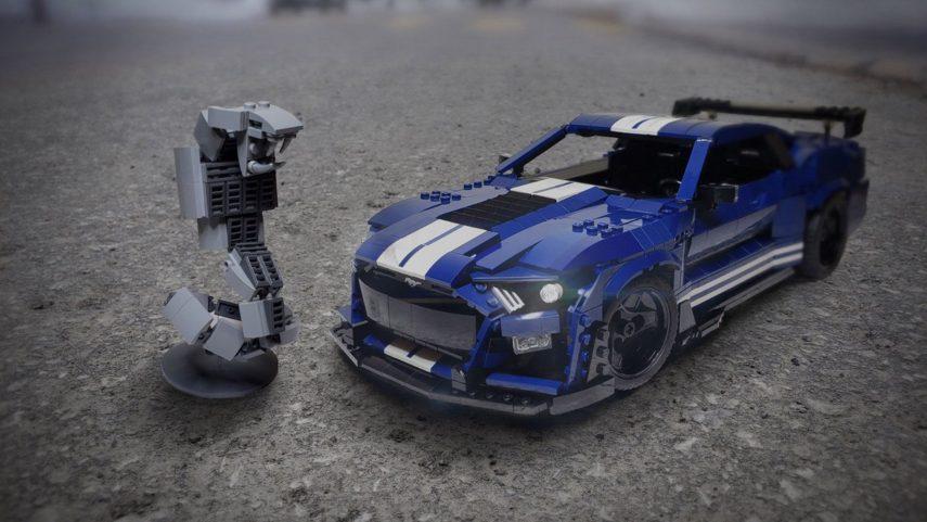 El 2020 Shelby GT500 se convierte al mundo LEGO