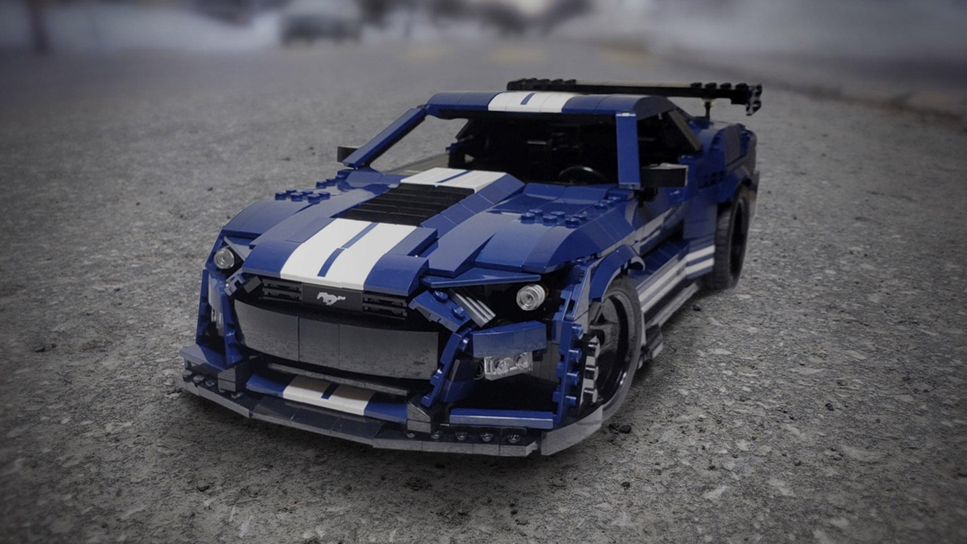 LEGO Ford GT500 2020 5