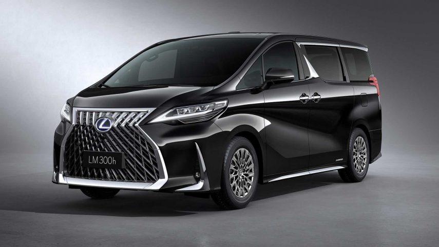 Lexus presenta en Shangái el LM, un lujoso monovolumen