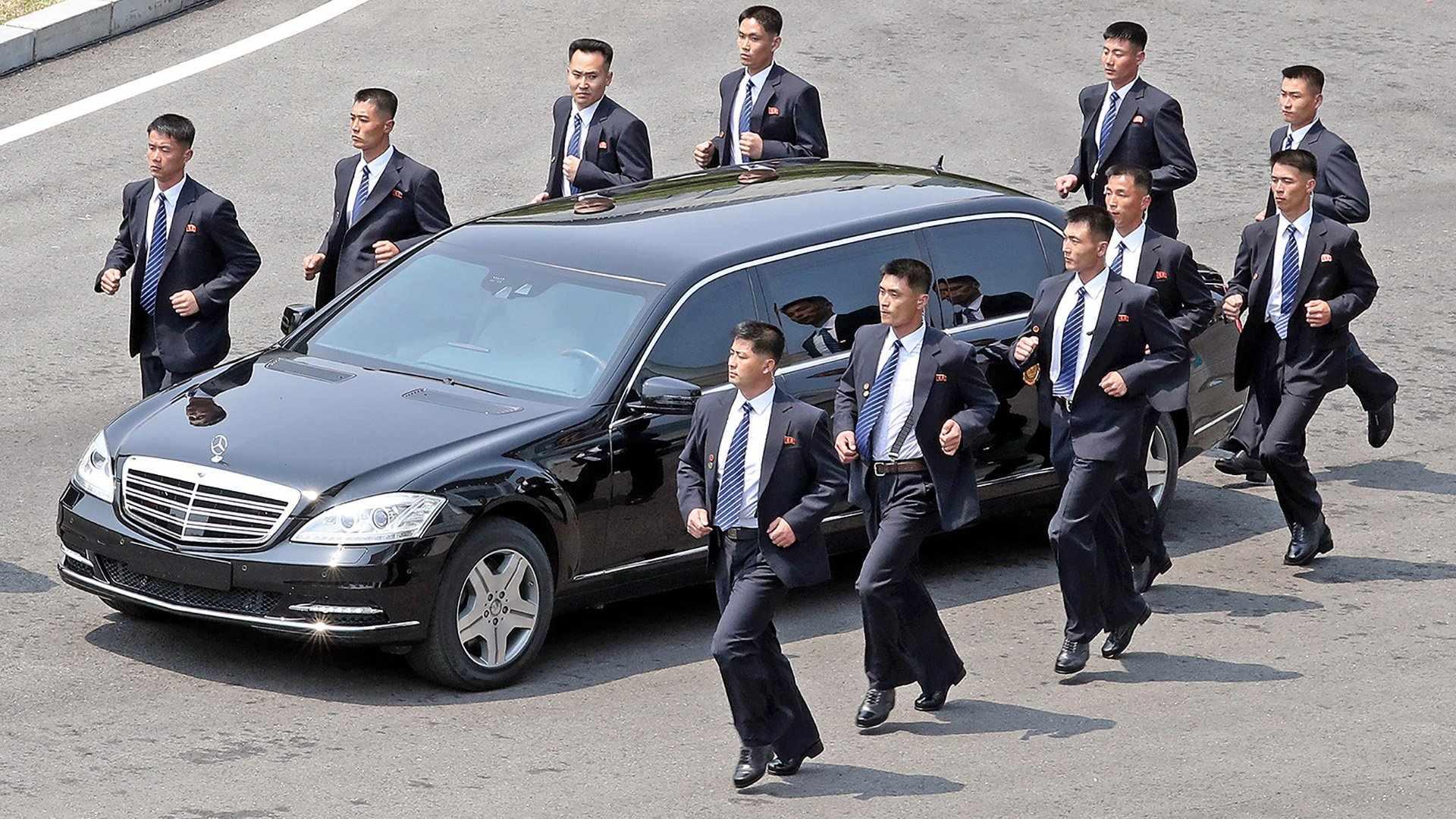 Daimler desconoce de dónde han salido los Mercedes Clase S de Kim Jong Un