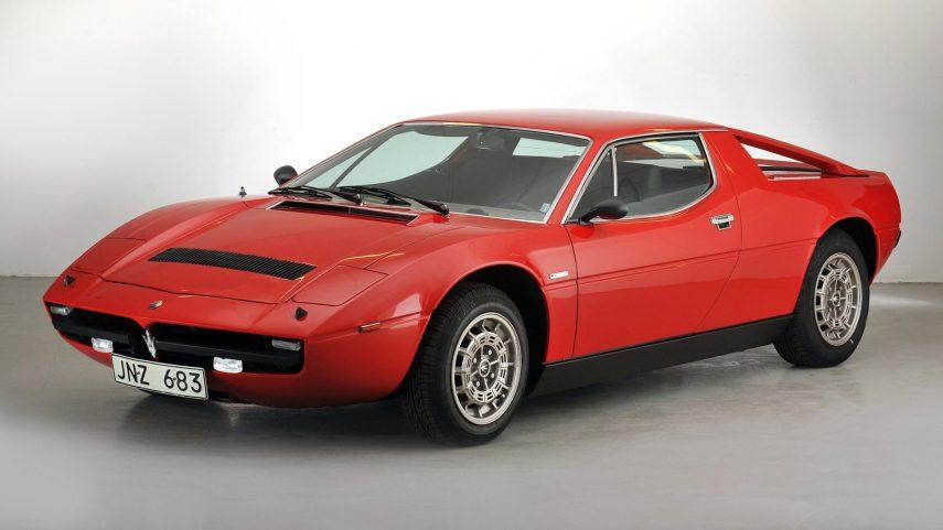 Coche del día: Maserati Merak SS