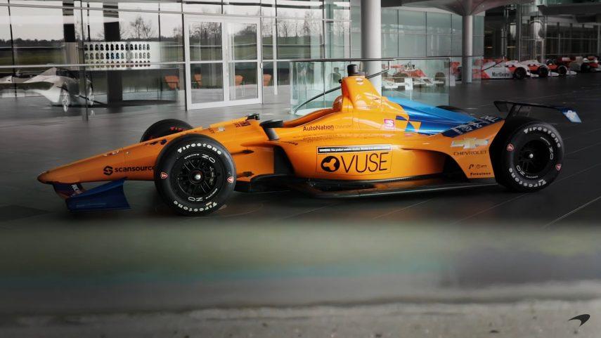 McLaren y Alonso ya tienen coche para afrontar las 500 Millas de Indianápolis