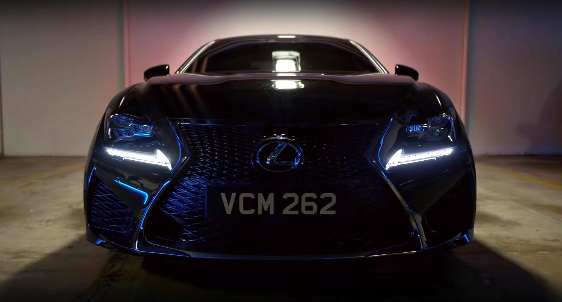 """El Lexus RC F será el nuevo vehículo de los """"Hombres de negro"""""""