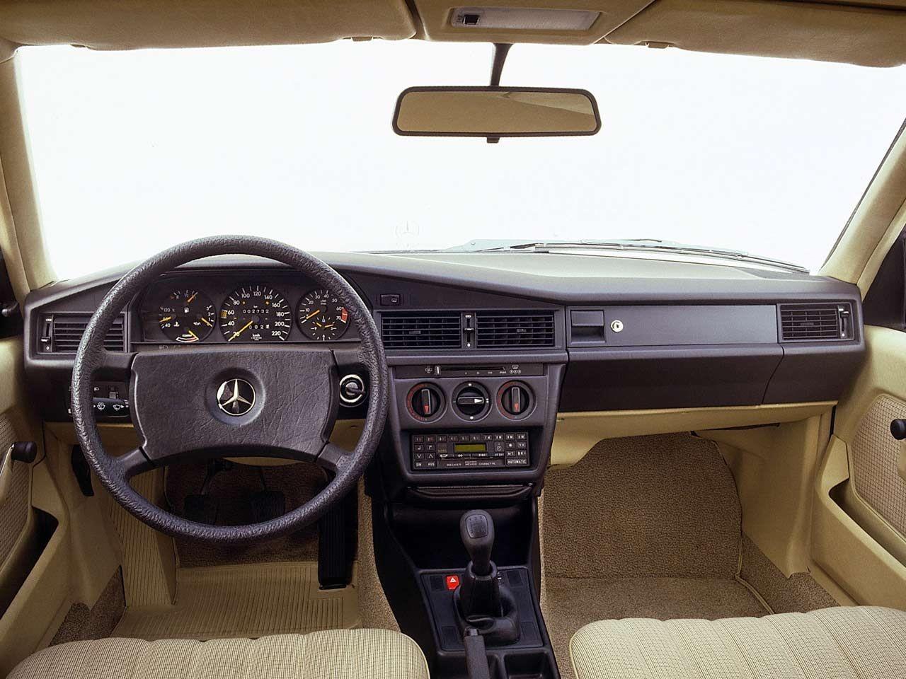 Mercedes Benz 190 E Interior