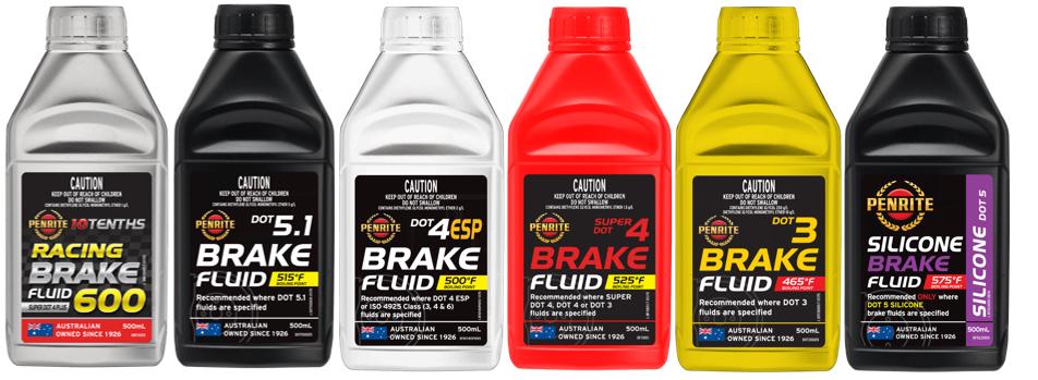 Penrite Brake Fluids