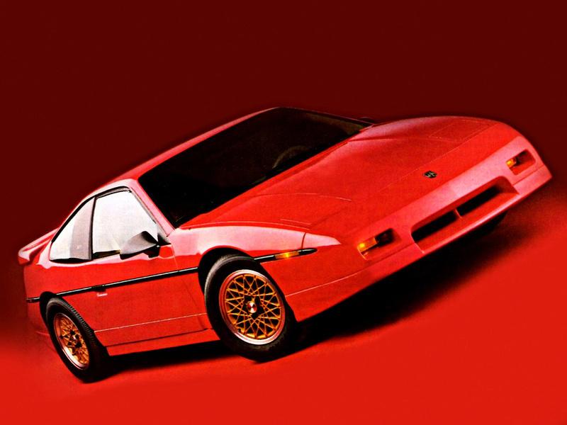 Pontiac Fiero GT 3