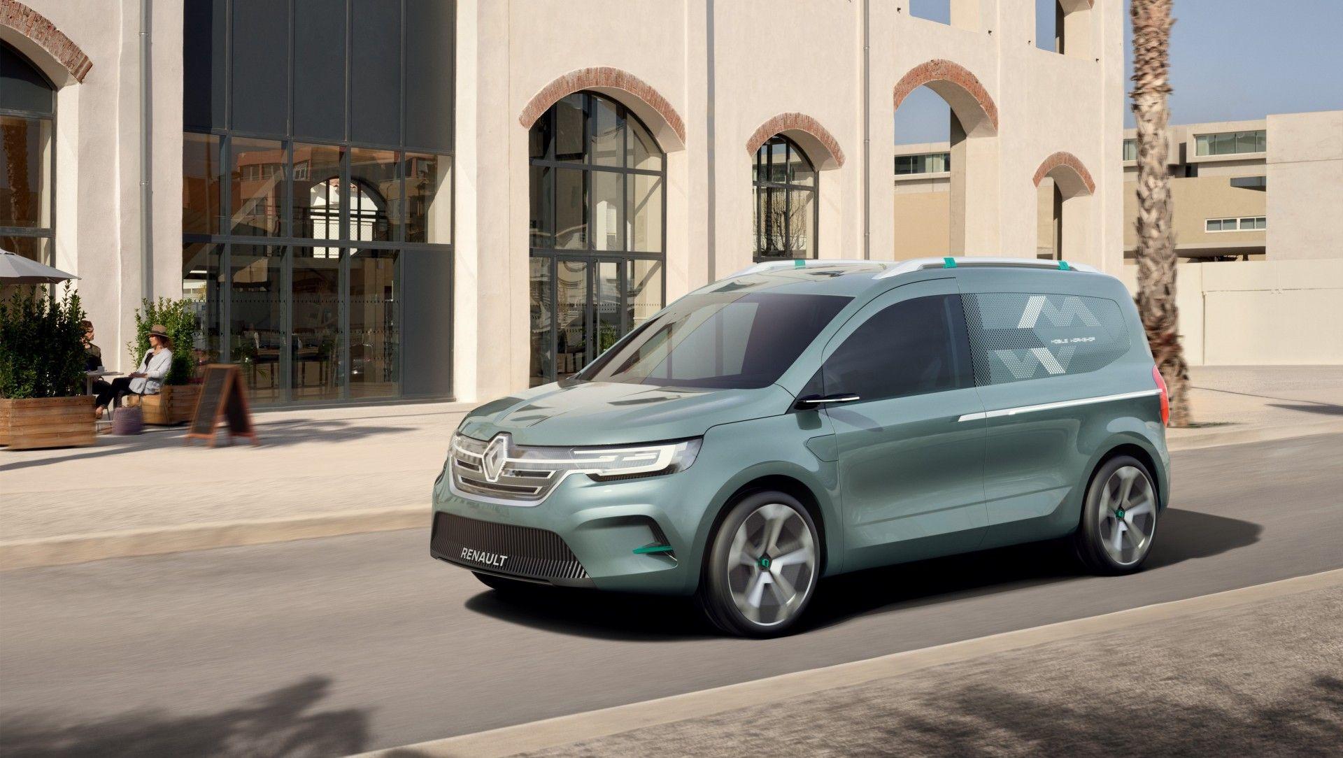 Renault Kangoo Z.E. Concept, un adelanto de la próxima generación