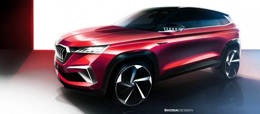 Škoda revela el prototipo Vision GT, otro SUV más