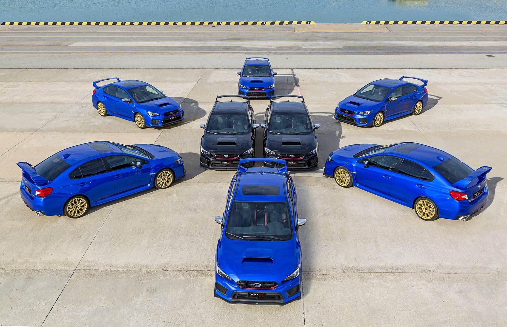 El Subaru WRX STI se despide de España con la Final Edition