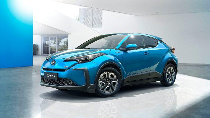 Toyota C-HR EV, aún más económico a la hora de repostar