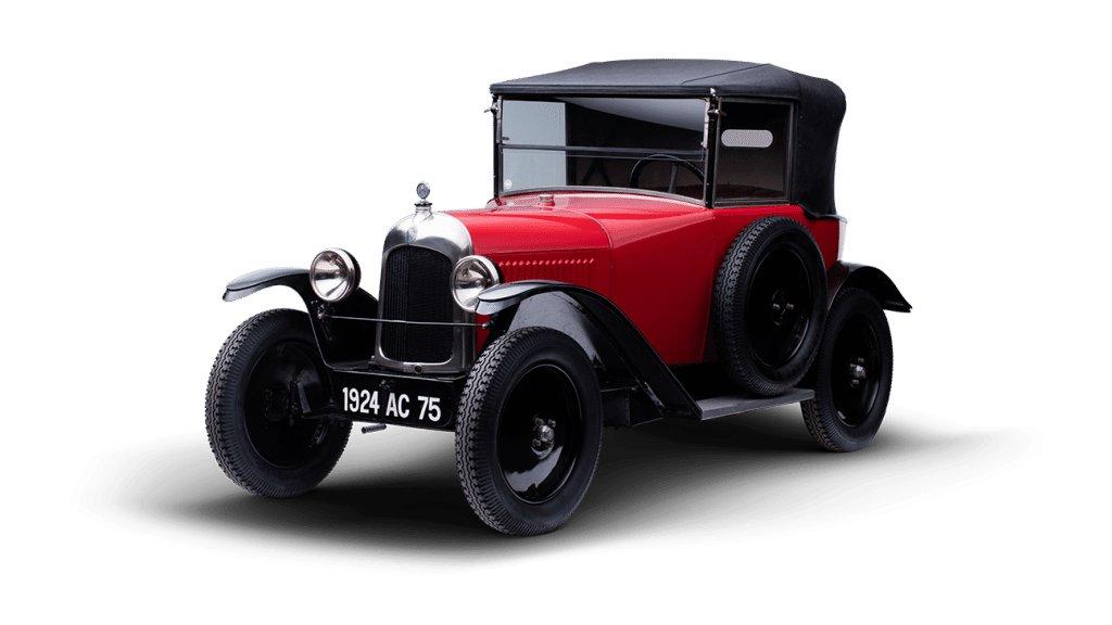 10 Citroen 5hp Cabriolet 1922