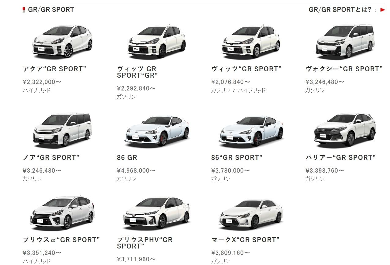 16 Linea GR Sport JDM