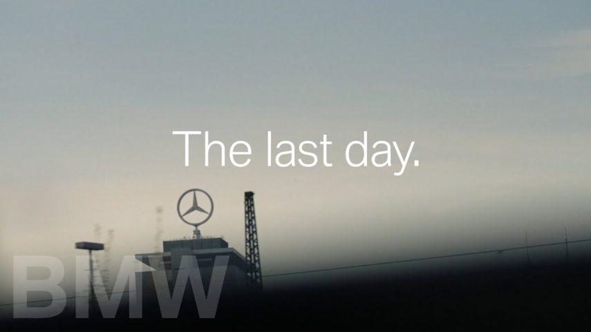 BMW trolea a Mercedes en el último día de trabajo de Dieter Zetsche