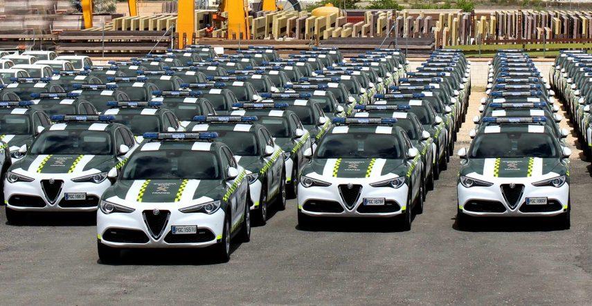 El Alfa Romeo Stelvio se une a la Agrupación de Tráfico de la Guardia Civil