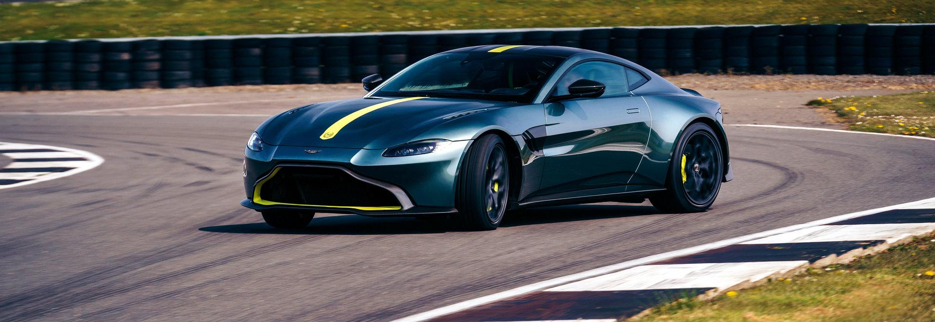 Aston Martin Vantage AMR, un deportivo a la vieja usanza