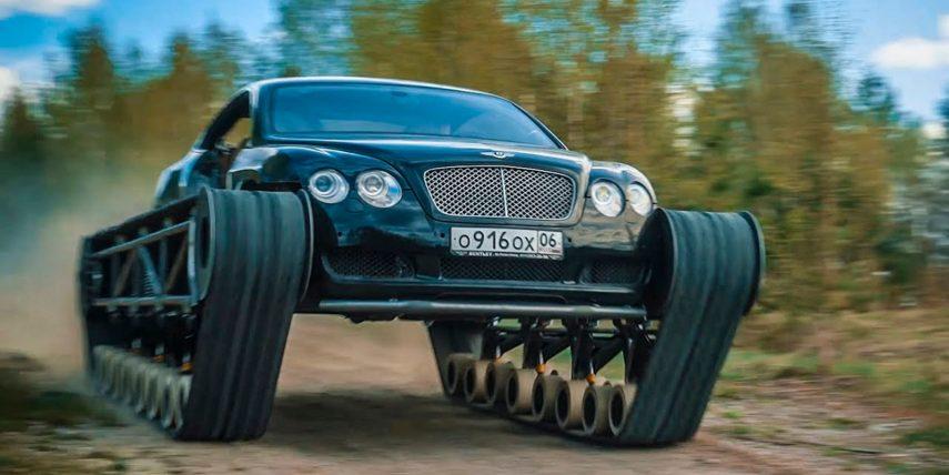 El Bentley Continental GT que quería ser un tanque