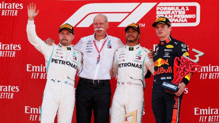 GP de España: Otro doblete de Mercedes mientras Red Bull supera a Ferrari