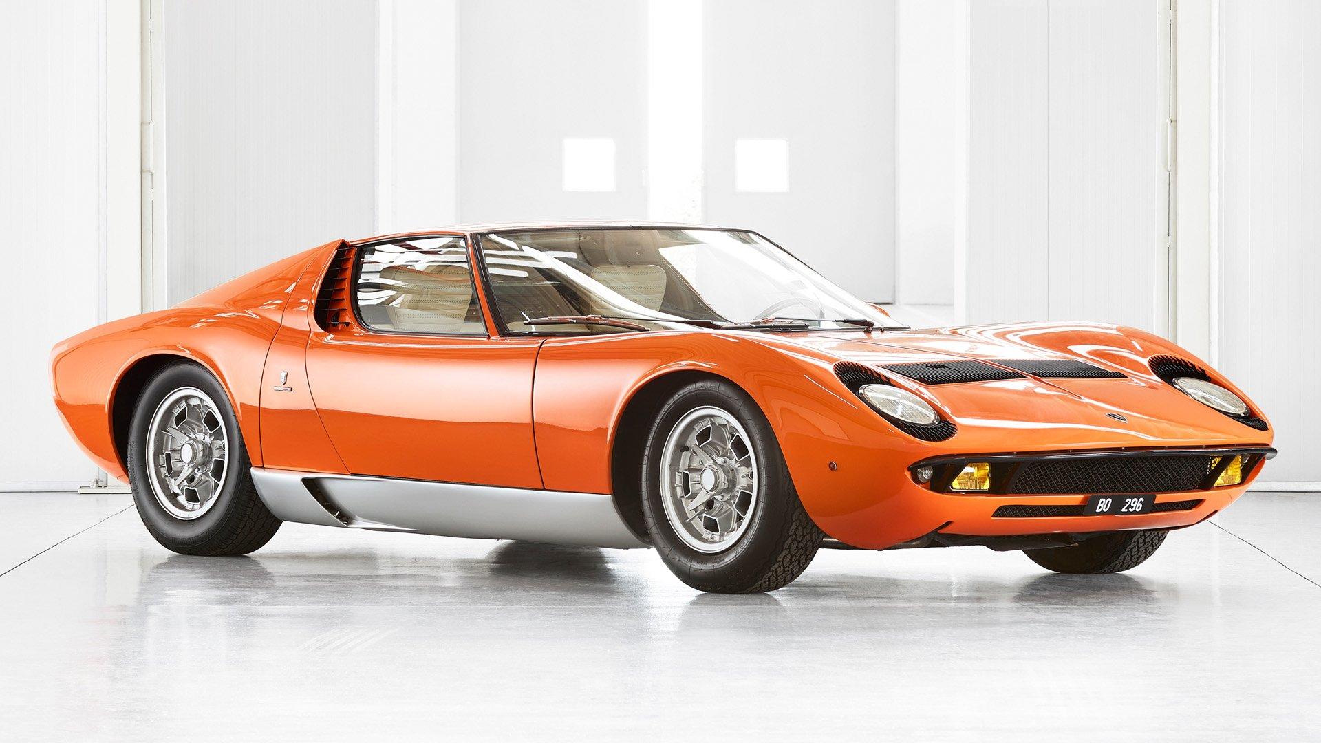 """Confirmado: este es el Lamborghini Miura de """"The Italian Job"""""""