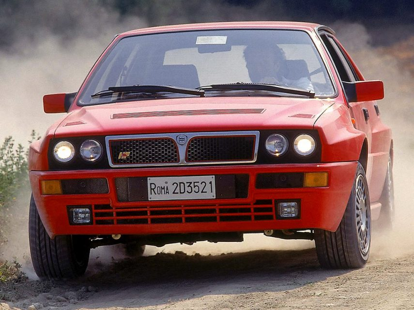 Coche del día: Lancia Delta HF Integrale Evoluzione