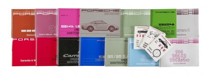 Porsche republica los manuales de sus modelos clásicos