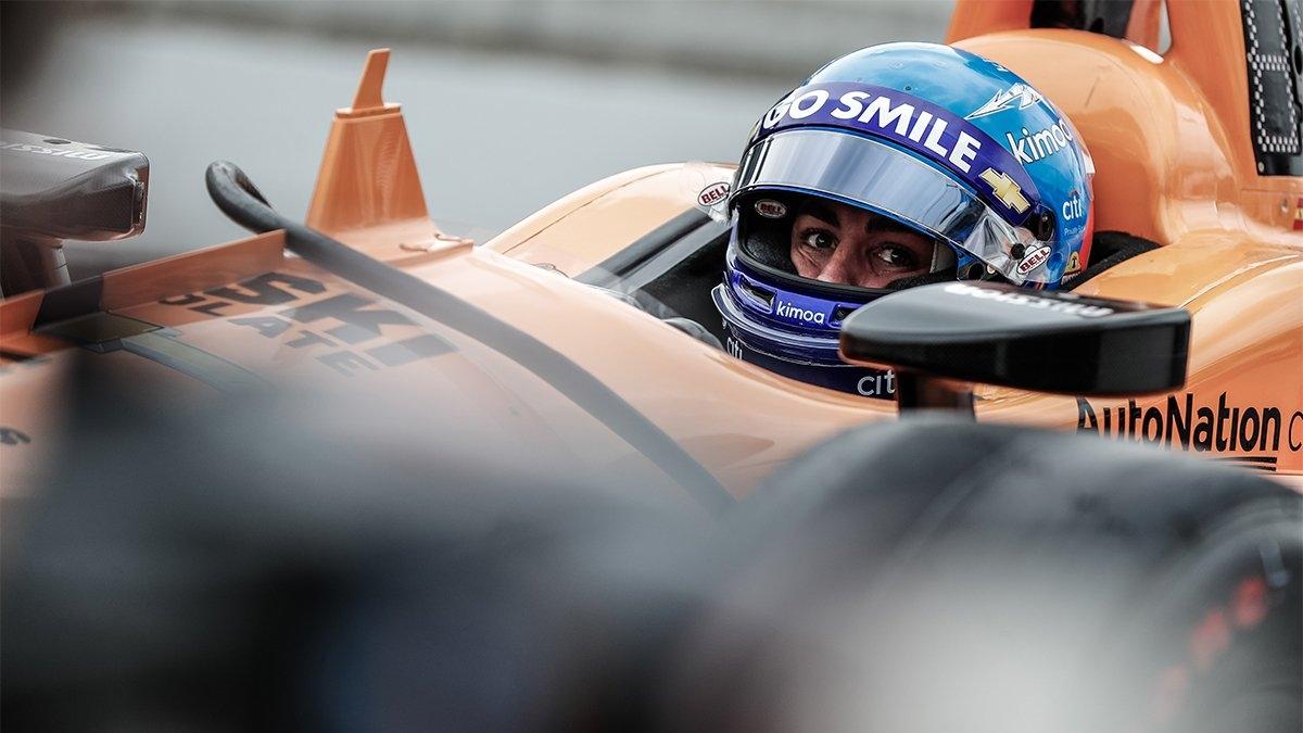 McLaren Alonso Indy500 3