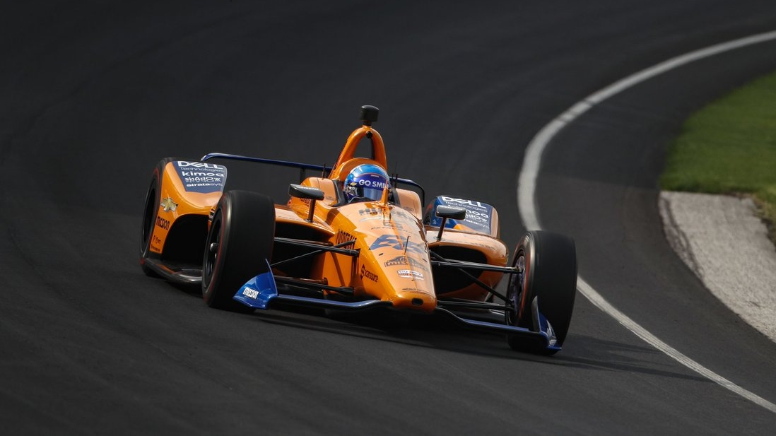 Alonso se queda fuera de las 500 millas de Indianápolis