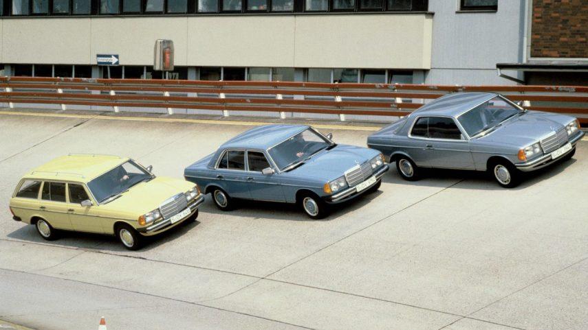 Coche del día: Mercedes-Benz W123