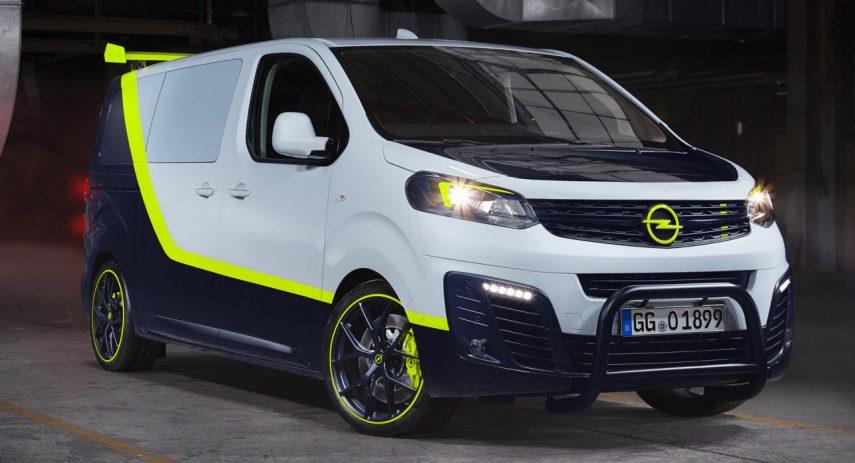 Opel Zafira O-Team, la furgoneta del Equipo A del siglo XXI