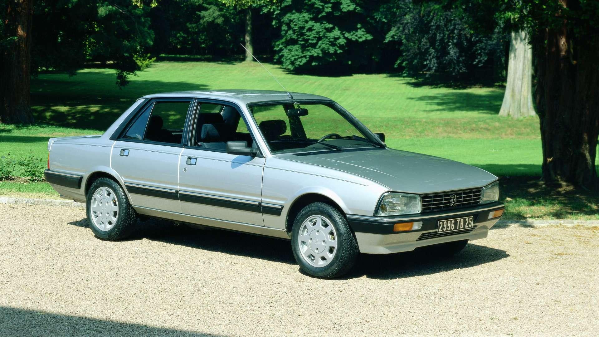 Coche del día: Peugeot 505 V6