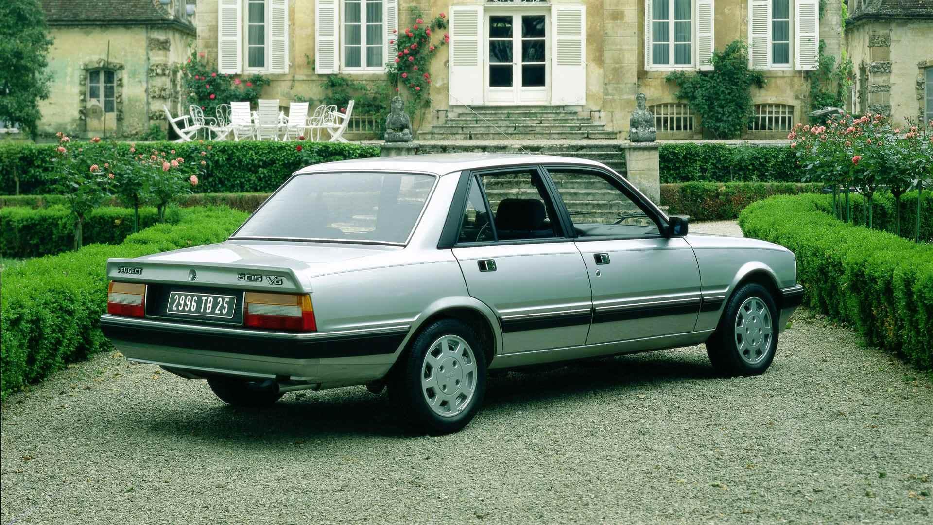 Peugeot 505 V6 3
