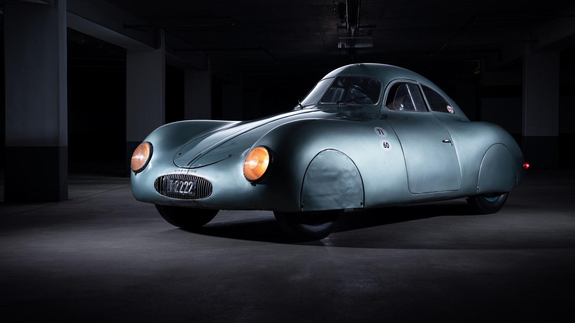 El tercer -y único- Porsche Typ 64 será subastado en Monterey