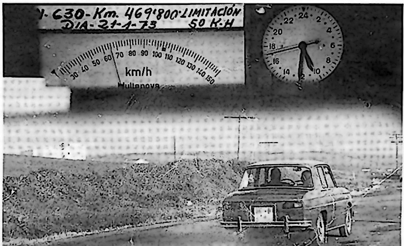 Primera Foto Radar