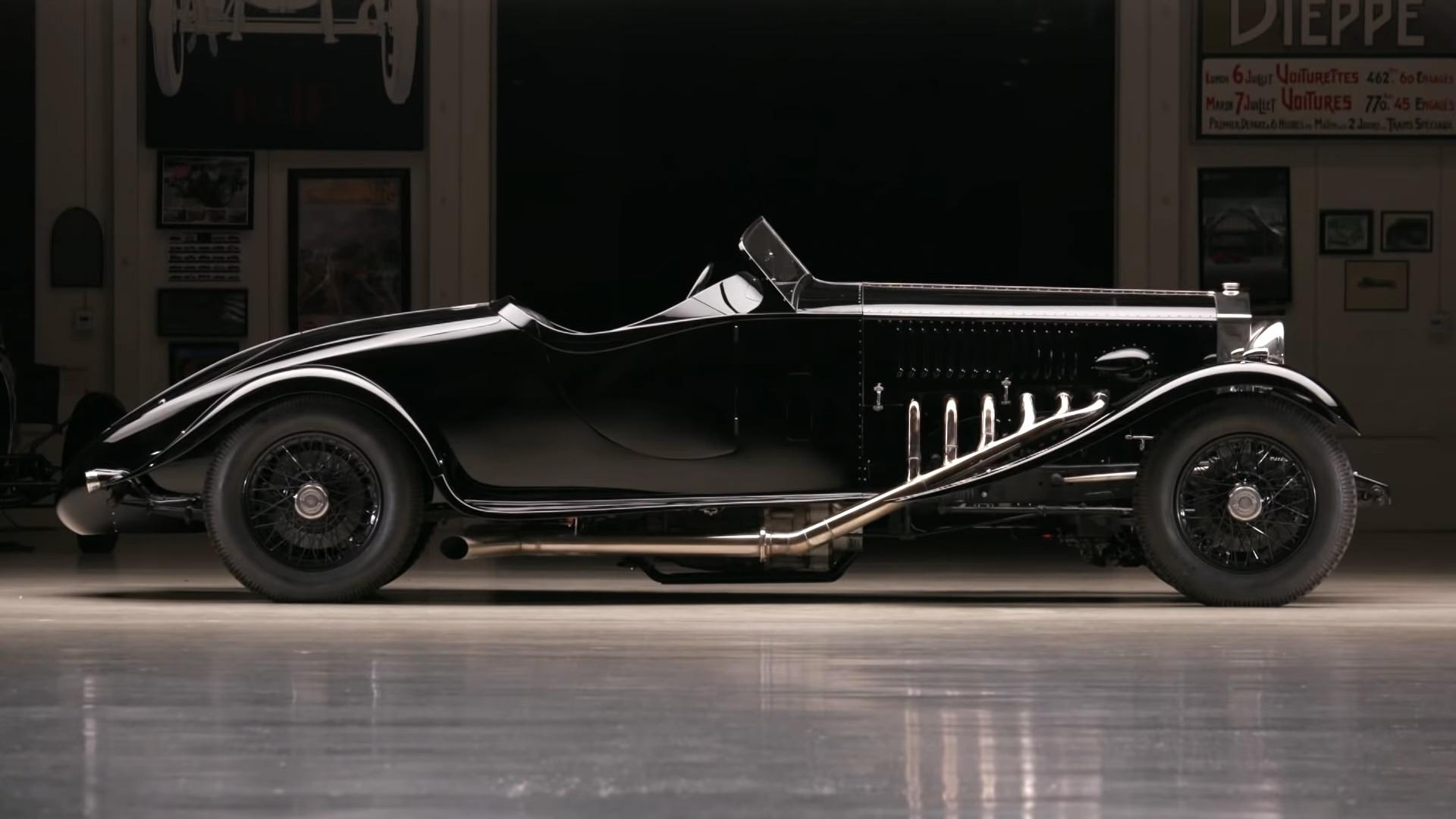 El Rolls-Royce de 1934 con motor Merlin aterriza en el garaje de Jay Leno