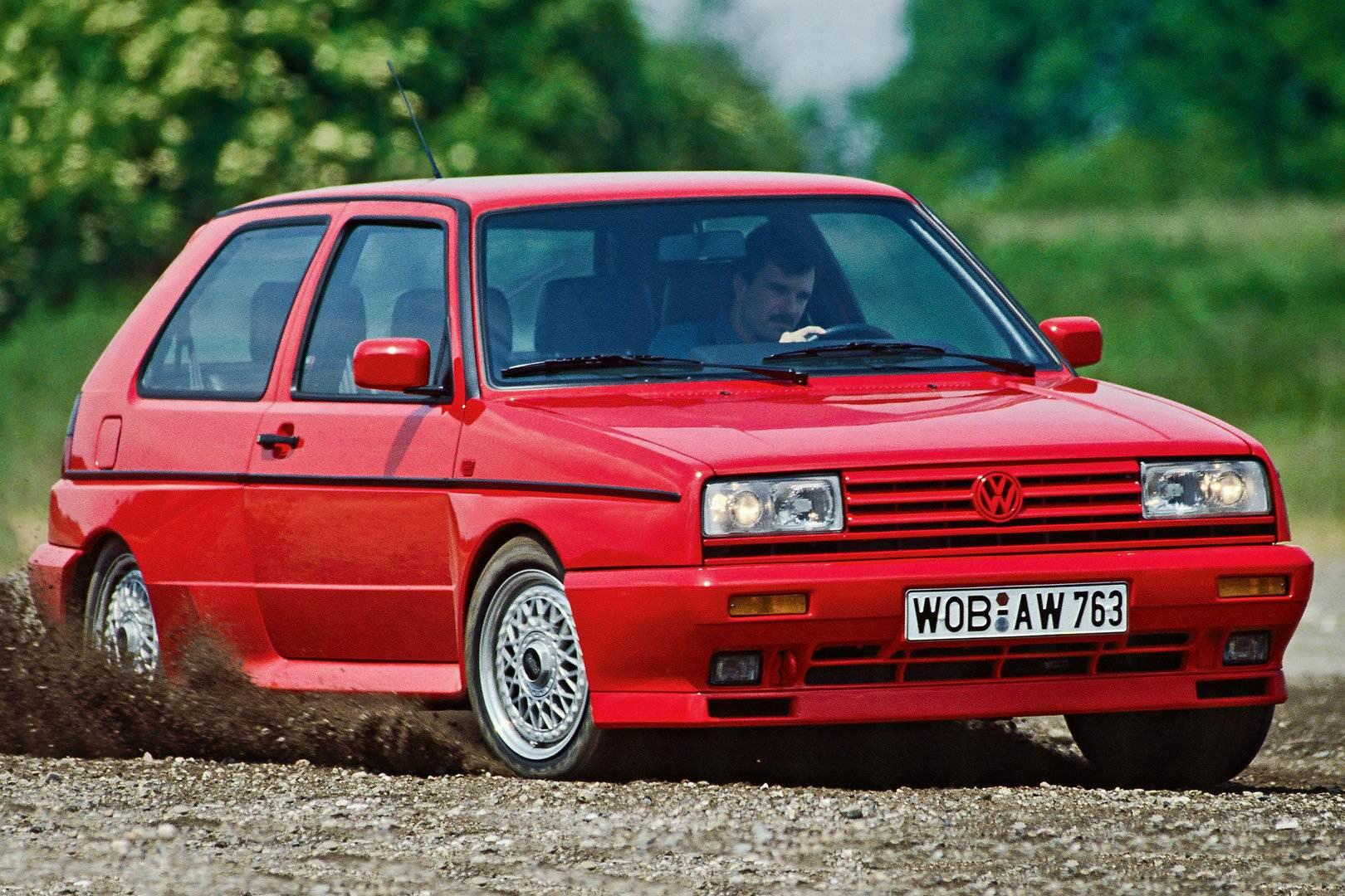 Coche del dia: Volkswagen Golf G60 Rallye (1G)
