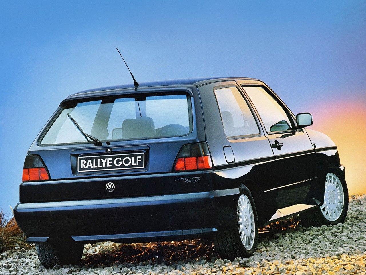 Volkswagen Golf Rallye G60 2