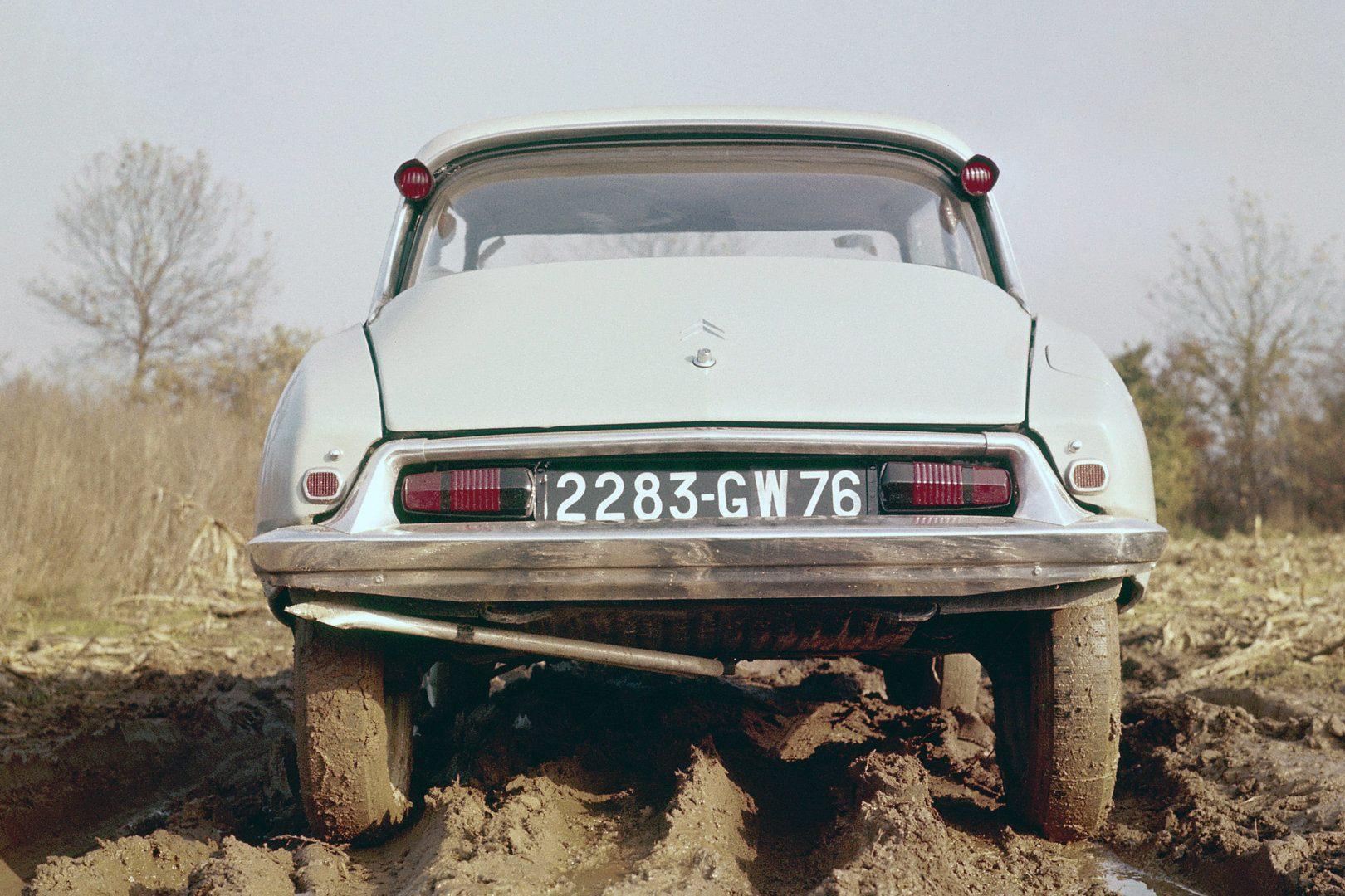Citroën DS Suspension arriba