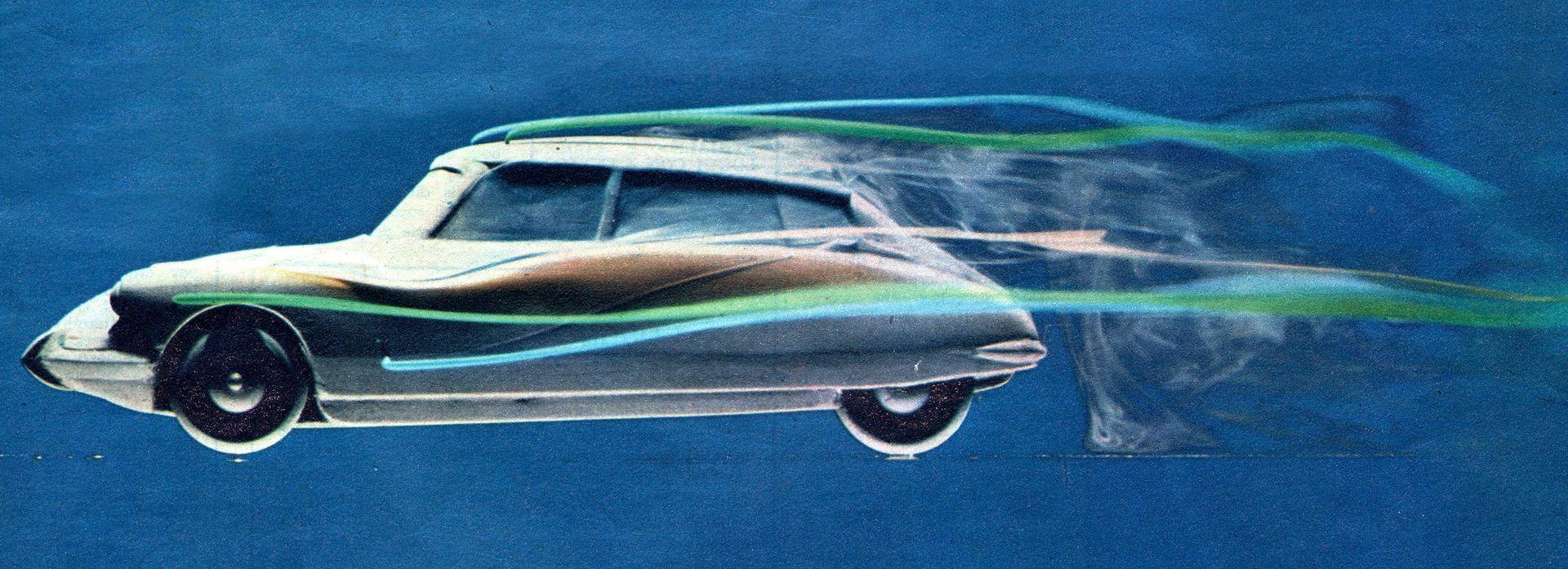 Citroën DS tunel viento