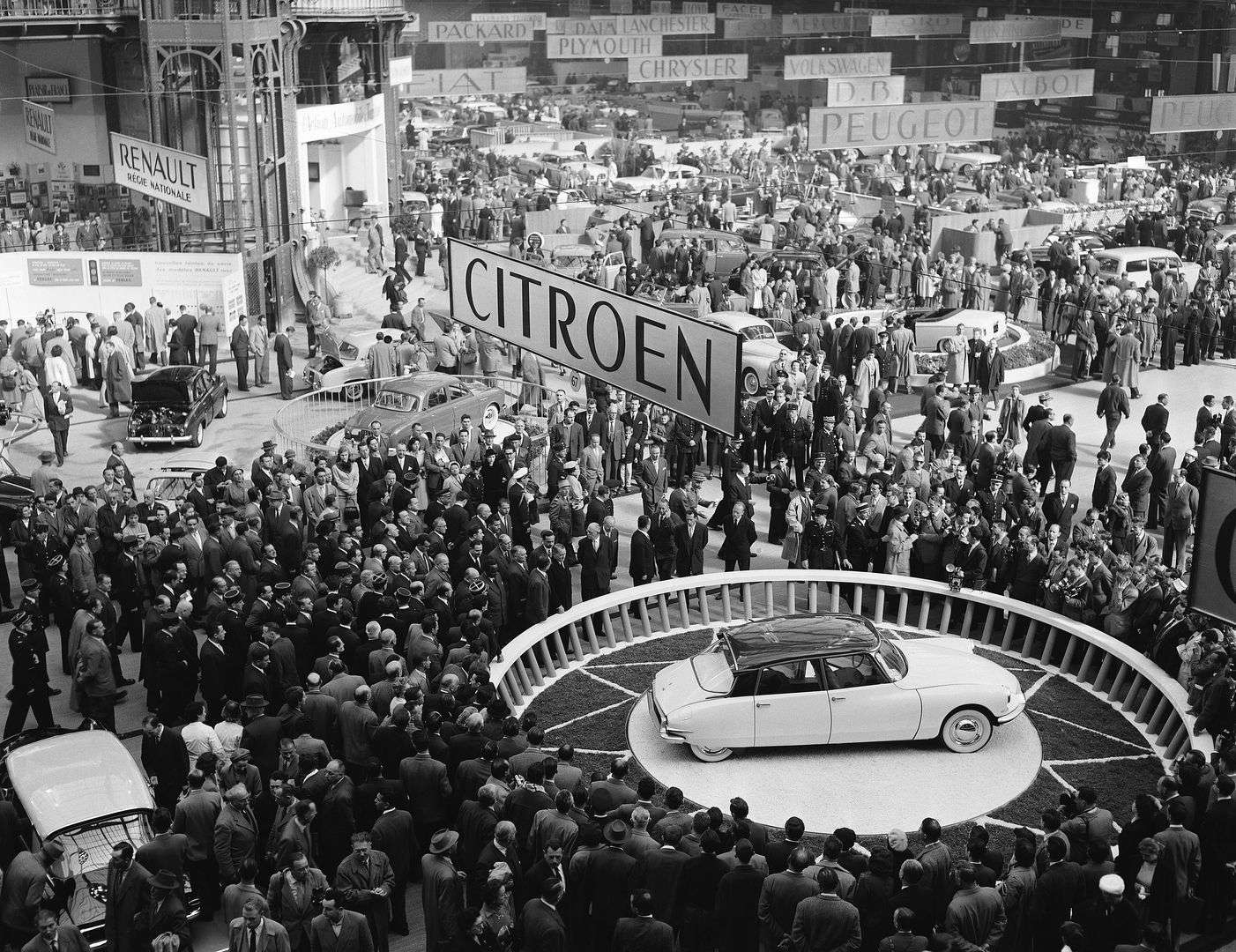 Citroën DS presentacion