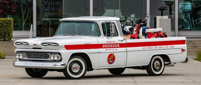 Honda restaura una Chevrolet Apache de 1961 muy especial