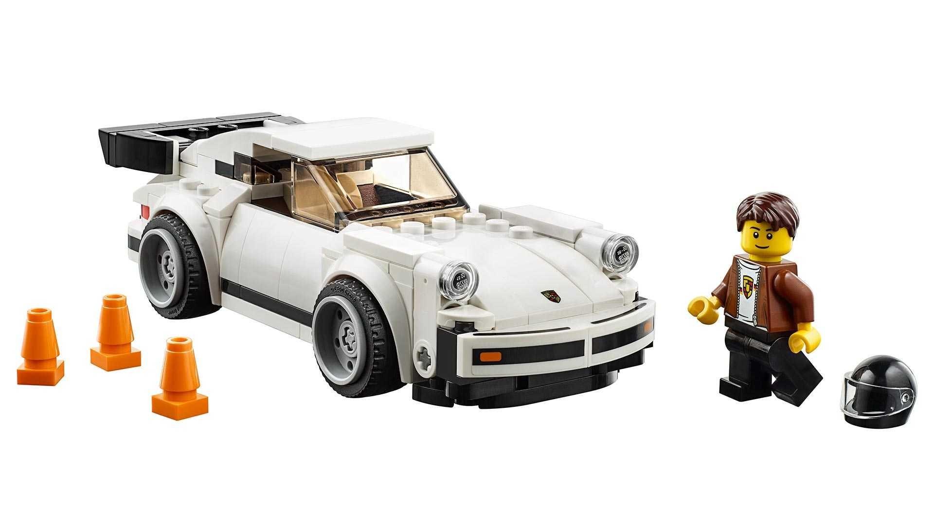 El Porsche 911 Turbo (930) de LEGO es ideal para posar en tu escritorio
