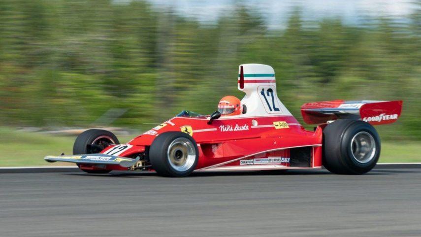 El Ferrari 312T que pilotó Niki Lauda saldrá a subasta