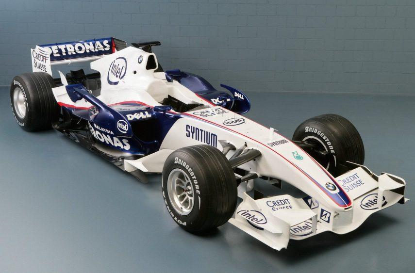 A la venta el BMW-Sauber de Fórmula 1 de 2007