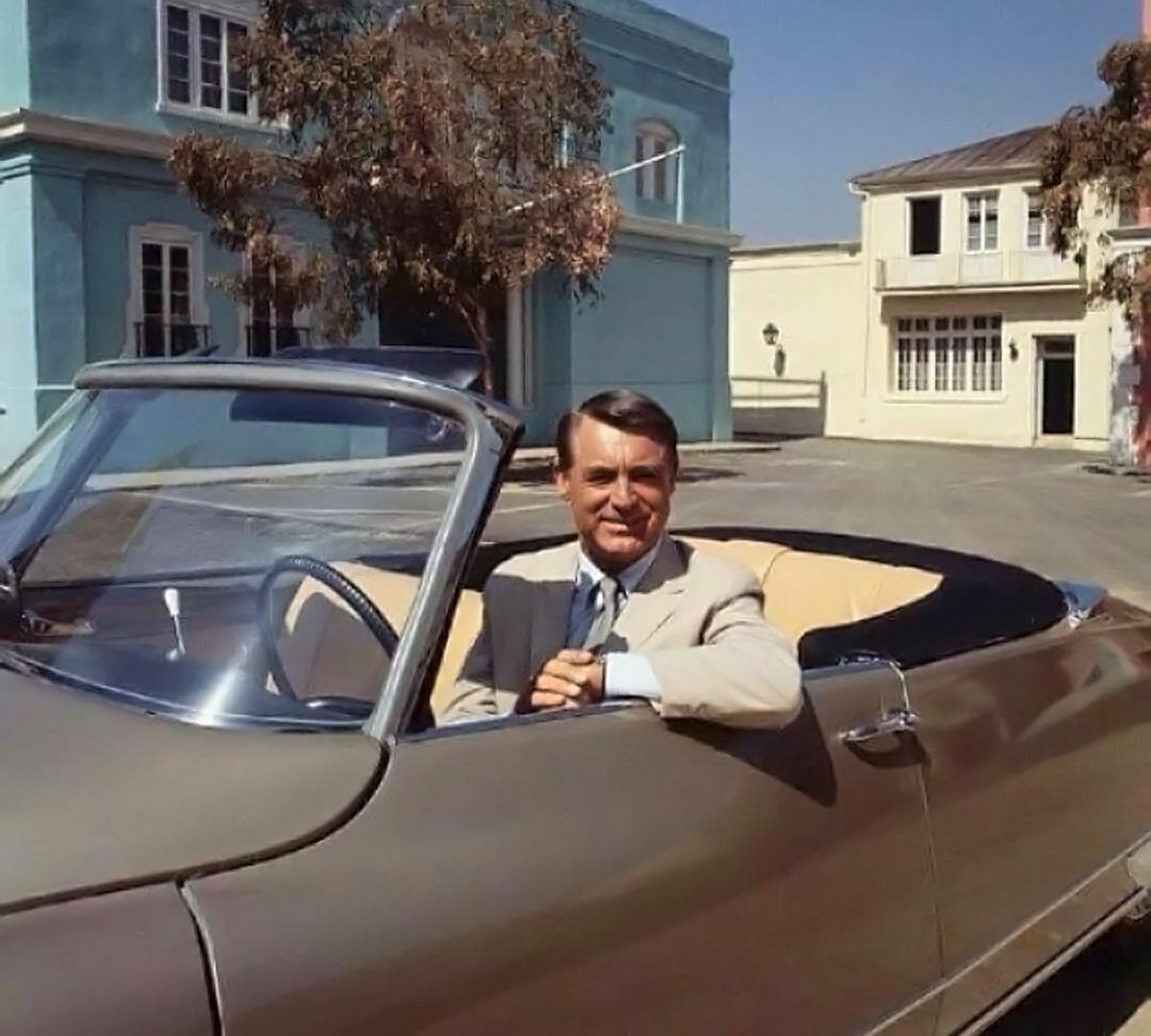 Cary Grant Citoën DS 19 Decapotable
