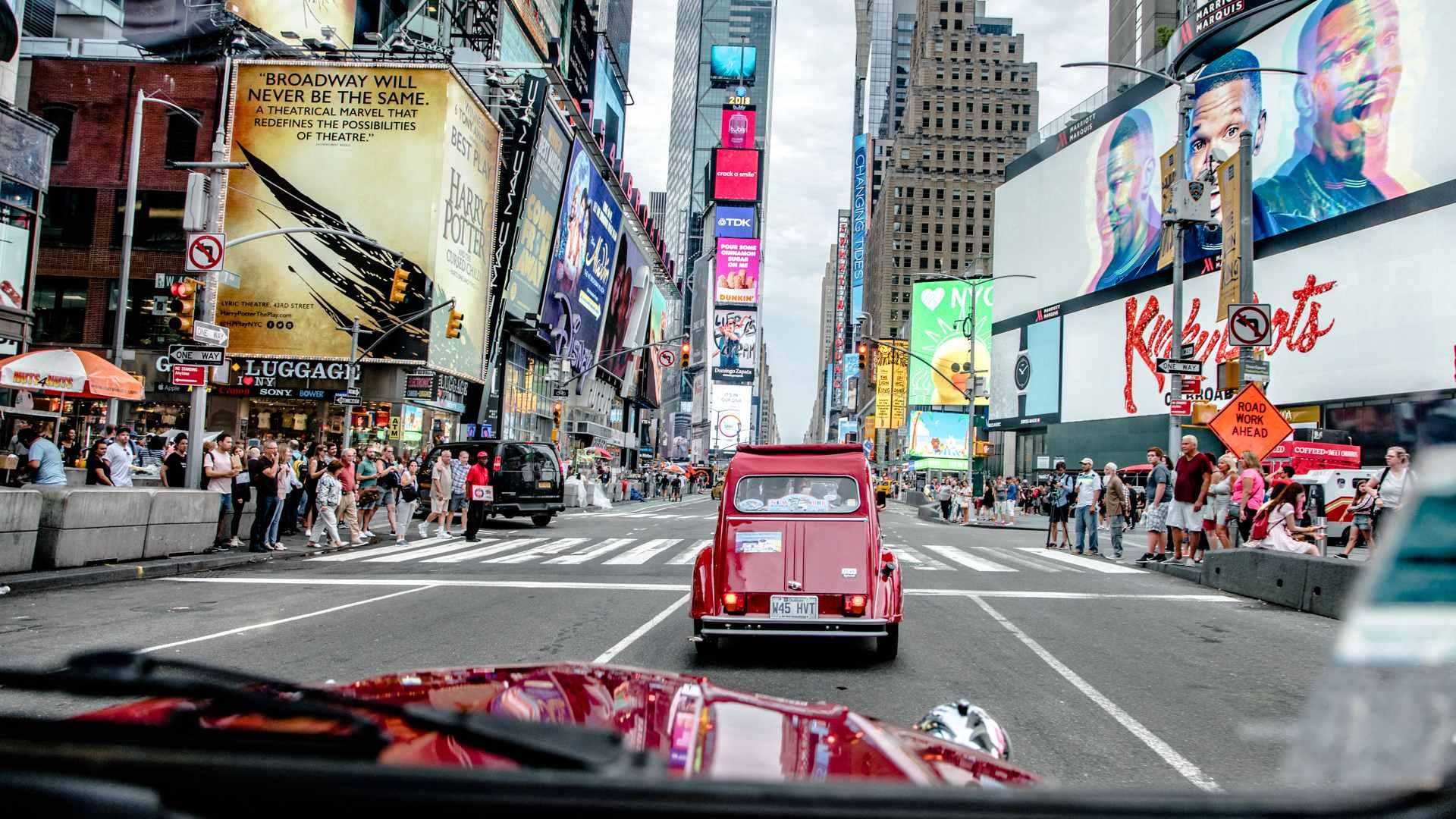 Citroën 2CV en Nueva York