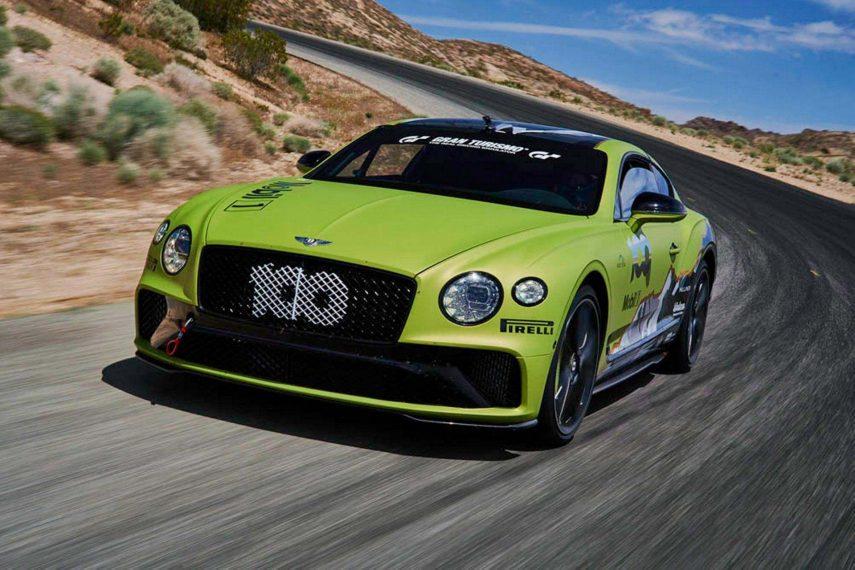 El Bentley Continental GT que buscará marcar un récord en Pikes Peak
