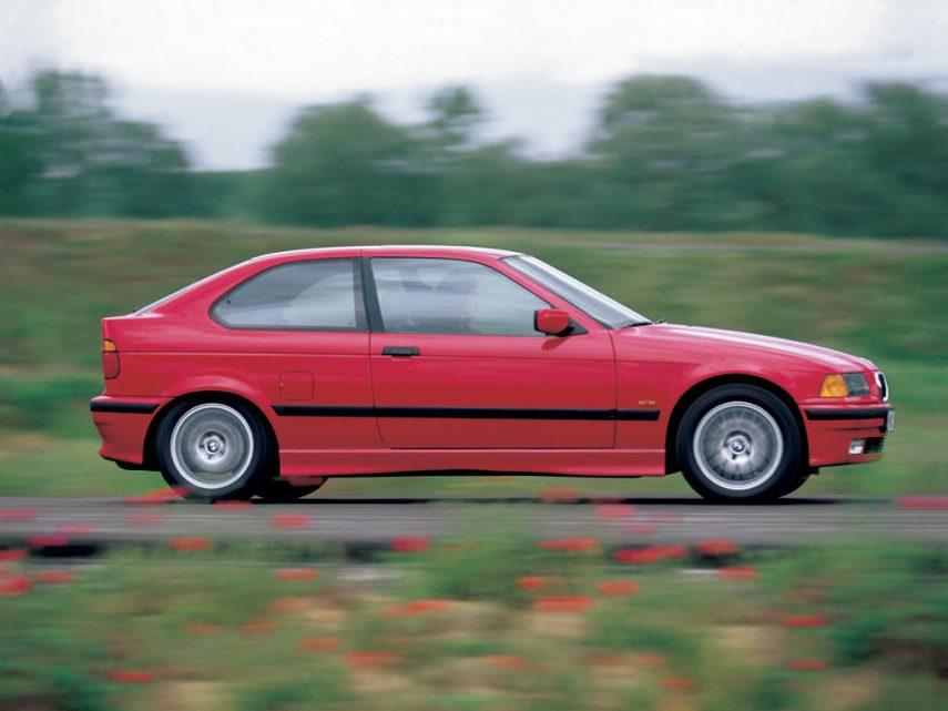 Coche del día: BMW 323 ti Compact (E36)